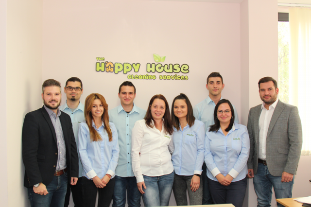 Our team (from left to right): Plamen, Ivo, Mariya, Spas, Diana, Tanya, Michael, Silvena and Dobromir