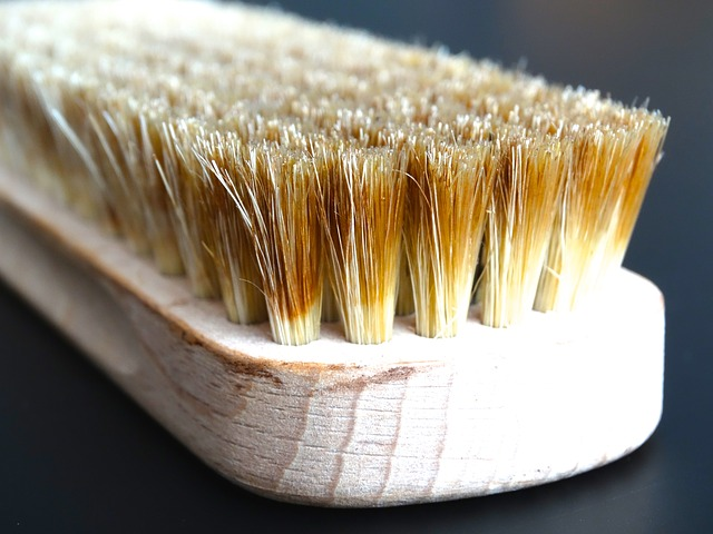 Brushes with natural bristles work best for on furniture and clothes.