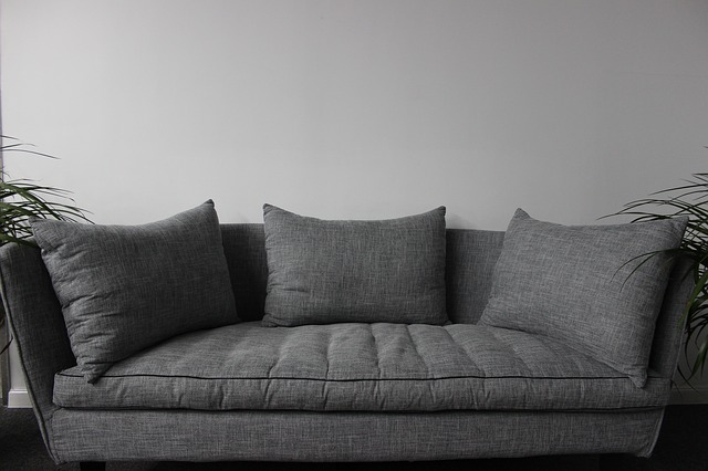 Fluff, pat, and flip the cushions to prevent the upholstery from wear and tear.